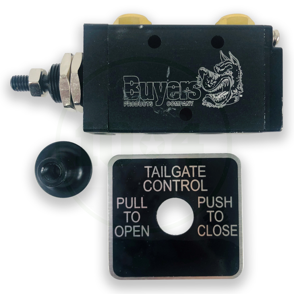 """Buyers Products BAV015 Tailgate Air Valve 4 Ways 1//4/"""" NPT Ports"""