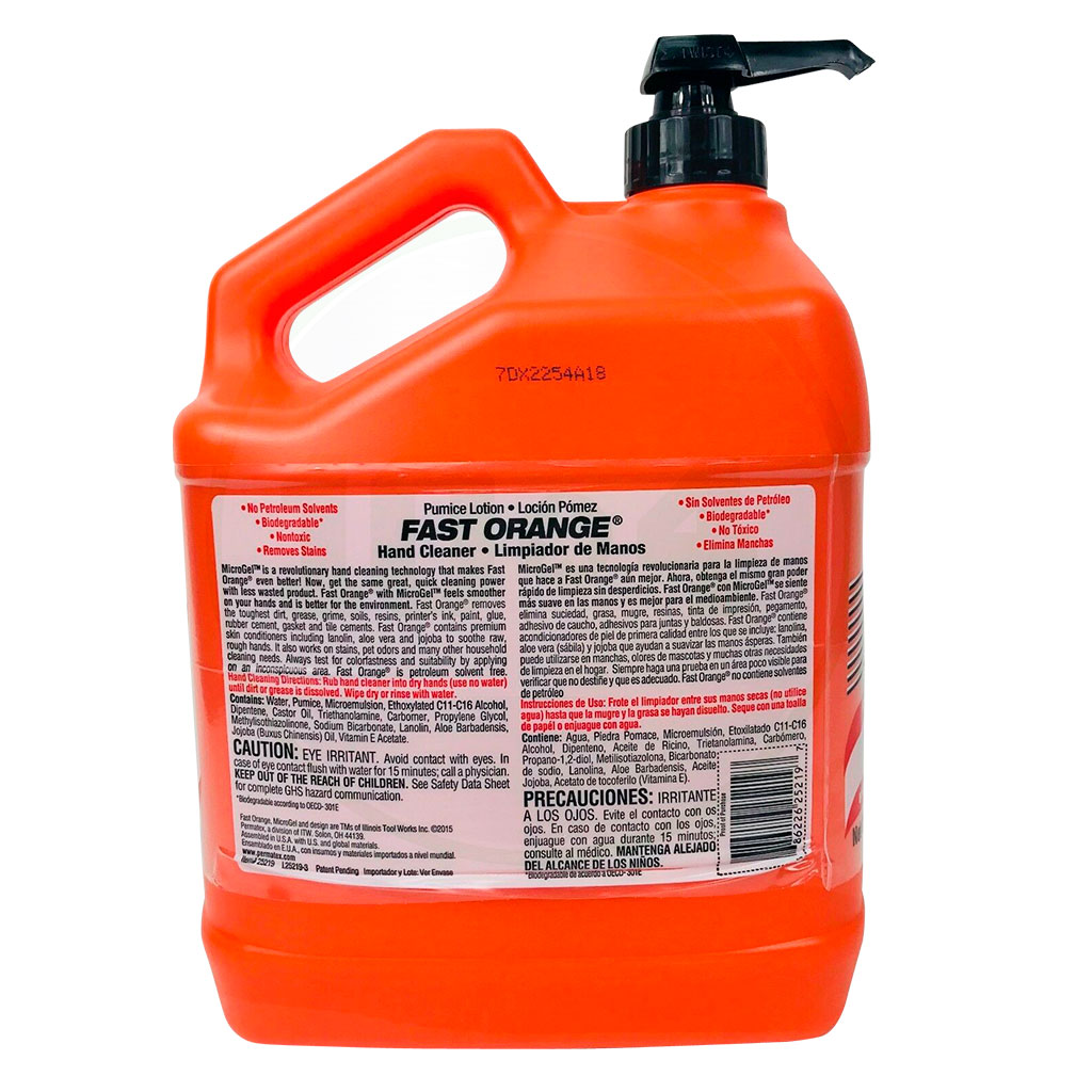 25219 Fast Orange Hand Cleaner 1 gal. 2