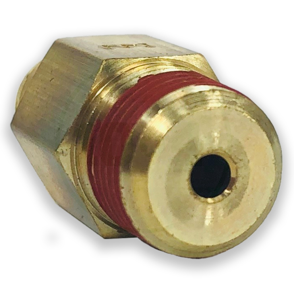 """1//8/"""" NPT BY POWER PRODUCT NP68-25-2 PUSH-IN CONNECTOR 5//32/"""" TUBBING"""